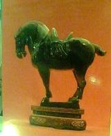 CHINA CINA TREASURE TESORI AGATE HORSE CAVALLO In The Imitation TANG DYNASTY N1990  HA7729 - Cina