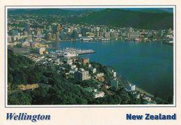 1 AK Neuseeland * Blick Auf Wellington City - Die Hauptstadt Von Neuseeland - Luftbildaufnahme * - Neuseeland