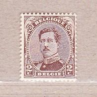 1915 Nr 136** Postfris Zonder Scharnier. Koning Albert I. - 1915-1920 Albert I