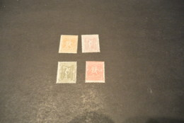 K18733 - Stamps Mint Hinged Greece - 1896- SC. 117-120 - Boxers And Discobolus - Nuevos