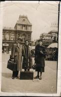 CARTE PHOTO : Bruxelles : La Gare Du Nord - Spoorwegen, Stations