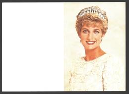 Diana Princess Of Wales - Doodsprentje / Bidprentje / Avis De Décès / Deathcard - Décès