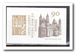Duitsland 2018, Postfris MNH, 1000 Years Of Consecration Of The Cathedral Of Worms - Ongebruikt