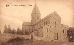 St Séverin - Condroz - L'Eglise (Epicerie Papeterie Café Restaurant Ory Renard) - Saint-Georges-sur-Meuse