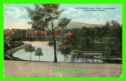 MONTRÉAL, QUÉBEC - LE PARC LAFONTAINE - CIRCULÉE EN 1919 - EUROPEAN POST CARD CO - - Montreal