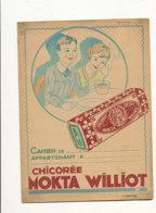 PR 151 -/   PROTEGE CAHIER  CHICOREE  MOGTA- WILLIOT - Alimentaire