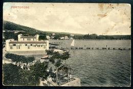 Portorose _2, Portoroze, 1909, Teilansicht, Piran, Adria, Guido Castalunga, Pola - Slowenien