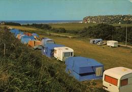 Cpm Criel Sur Mer(76) Le Camping Municipal Et La Plage  Non Ecrite Caravanes Tentes - France