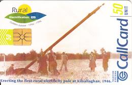 IRELAND - Celebrating 50 Years Of Rural Electrification 1946-1996, Chip GP1, Tirage %60000, 09/96, Used - Ireland