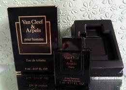"""Miniature De Parfum """"VAN CLEEF & ARPELS""""  Pour Homme  Eau De Toilette  5 Ml Avec Sa Boîte - Miniatures Hommes (avec Boite)"""