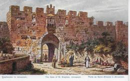 AK 0150  Perlberg , F. - Stephanstor In Jerusalem ( Palästina ) Um 1910-20 - Perlberg, F.