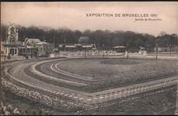 Expo 1910 Jardin De Bruxelles - Feesten En Evenementen