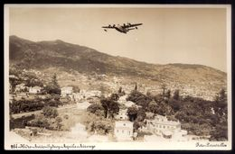 "AQUILA AIRWAYS Hidroavião ""R.M.A.SYDNEY"" Na MADEIRA. Solent Seaplane Hydroplane Vintage Photo Postcard - 1939-1945: 2. Weltkrieg"