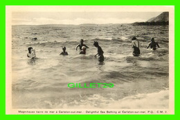 CARLETON-SUR-MER, QUÉBEC - MAGNIFIQUES BAINS DE MER, ANIMÉE - C. M. - H. V. HENDERSON - - Quebec