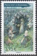 Andorre Français 2017 Légende De La Cave D'Arans Neuf ** - Andorre Français