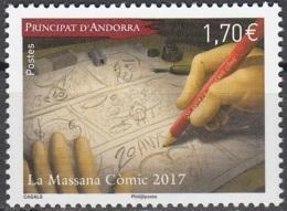 Andorre Français 2017 La Massana Musée De BD Neuf ** - Andorre Français