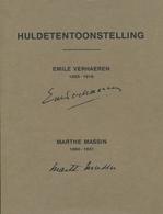 Huldetentoonstelling EMILE VERHAEREN  & MARTHE MASSIN - Poésie