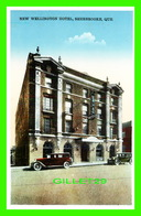 SHERBROOKE, QUÉBEC -DEW WILLINGTON HOTEL - ANIMÉE DE VIEILLE VOITURES -  INTERNATIONAL FINE ART CO LTD - - Sherbrooke