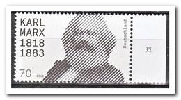 Duitsland 2018, Postfris MNH, Karl Marx - Ongebruikt