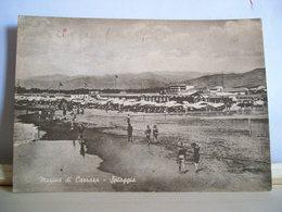 1959 - Apuania - Massa Carrara - Marina Di Carrara - Spiaggia - Animata - Cartolina D'epoca Originale - Carrara