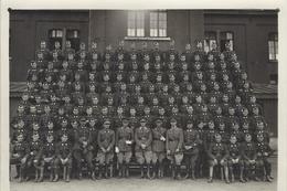 1936 Caserne De Witte De Haelen à Etterbeek Splendide Photo D'un Groupe De Cavaliers - Guerre, Militaire