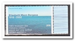 Duitsland 2018, Postfris MNH, Elisabeth Mann Borgese - Ongebruikt