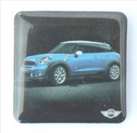 Magnet MINI MINI - Voiture Bleue - H646 - Magnets