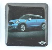 Magnet MINI MINI - Voiture Bleue - H647 - Magnets