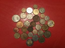 LOT DE 30 PIÈCES ÉTRANGÈRES Voir Le Scan - Monnaies & Billets