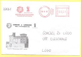 ITALIA - ITALY - ITALIE - 2002 - 00,41 EMA, Red Cancel - Comune Di Longiano - Viaggiata Da Longiano Per Lugo - Affrancature Meccaniche Rosse (EMA)