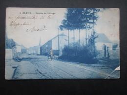 CP BELGIQUE (V1619) BAILEUX (Chimay, Couvin)(2 Vues) Entrée Du Village 1907 - Chimay