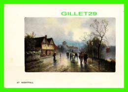 LONDON, UK - AT NIGHTFALL - PHILCO SERIES No 2096 F - ANIMATED - TRAVEL - London Suburbs