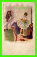 DANSE BALLET - THE ORIGINAL, MR BUTTIN - THE ILLUSTRATED POST CARD CO - UNDIVIDED BACK - - Danse
