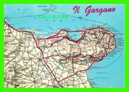 CARTES GÉOGRAPHIQIE, MAP - PROMONTORIO DEL GARGANO, ILTALIA - - Cartes Géographiques