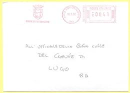 ITALIA - ITALY - ITALIE - 2002 - 00,41 EMA, Red Cancel - Comune Di Portomaggiore - Viaggiata Da Portomaggiore Per Lugo - Affrancature Meccaniche Rosse (EMA)
