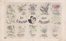 LE LANGAGE DES FLEURS - Blumen