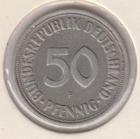 @Y@    Duitsland   50  Pfennig  1950  F  (D32) - 50 Pfennig