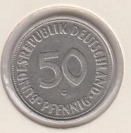@Y@    Duitsland   50  Pfennig  1950  G  (D25) - 50 Pfennig
