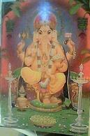 INDIA LORD GANESH ILLUSTRATA R.R.NATEKAR V1980 HA7739 - India