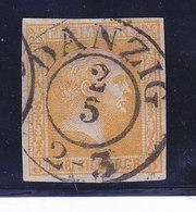 PRUSSE, N° 8, Oblitéré De DANZIG, Cote 55€, ( W1911/043) - Prusse