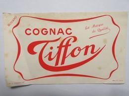 Buvard : Cognac TIFFON Rouge - Liqueur & Bière