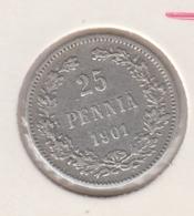 @Y@    Finland  25 Pennia  1901   (2723) - Finlande