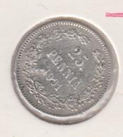 @Y@    Finland  25 Pennia  1901   (2722) - Finlandia