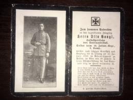 Sterbebild Wk1 Ww1 Bidprentje Avis Décès Deathcard IR16 PASSAU 17. Januar 1916 Aus Unterwackerstall - 1914-18
