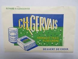 Buvard :  Fromages Frais Pure Crème CH GERVAIS - Produits Laitiers