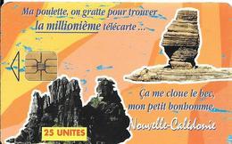 CARTE-PUCE°-NOUVELLE-CALEDONIE-25U-NC51-SC8-La MILLIONIEME-Série 7 N° 1004922-20000Ex-UTILISE-TBE-RARE - New Caledonia