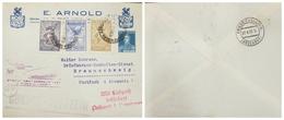O) 1932 ARGENTINA, 3er VIAJE GRAF ZEPPELIN  SUDAMERICA -EUROPA, -THIRD TRAVEL GRAF ZEPPELIN-NORD DEUTSCHER LLOYD BREMEN - Covers & Documents