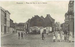 MOUSCRON - Rues Du Gaz Et De La Station - N° 12631 Edit. Lèches-Meyer, Mouscron - Moeskroen