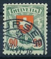 163y/194y Wappenmuster / Écussons - Sauber Gestempelt SURSEE - Ort Und Datum Lesbar - Suisse