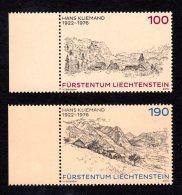 LIECHTENSTEIN - 2013 - NEUFS ** LUXE / MNH -  Série Complète Yvert #1610/1611 2 Valeurs - Liechtenstein
